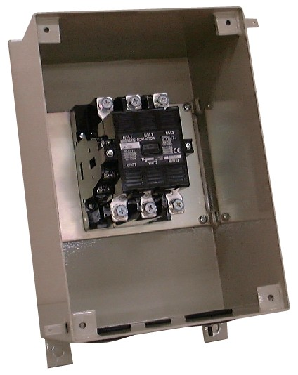 深夜電力切替用電磁開閉器