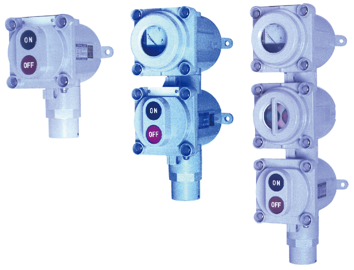耐圧防爆形操作開閉器(アルミ合金製)