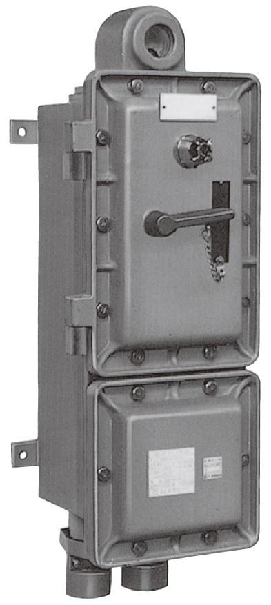 防爆形配線用遮断器